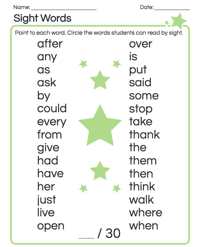 1st Grade.Reading.Foundational Skills.Know And Apply Grade-level Phonics  And Word Analysis Skills In Decoding Words.Recognize And Read Grade-appropriate  Irregularly Spelled Words. - THINK&Co
